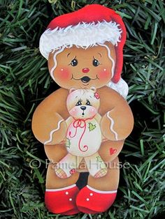 The Decorative Painting Store: Ginger's Christmas Bear, Gingerbread