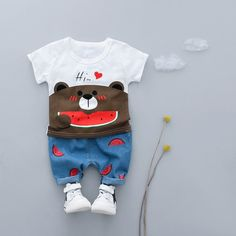 Lurryly❤Baby Girls Boys Long Sleeve Cartoon Eyes Soft Toddler Kids Tops Shirt Clothes 1-4T