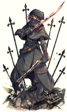 Character Concept, Character Art, Concept Art, Character Design, Dark Blood, Old Blood, Soul Saga, Blood Hunter, Pathfinder Character