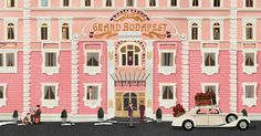 Wes Anderson Collection: The Grand Budapest Hotel by Matt Zoller Seitz Grand Budapest Hotel, The Wes Anderson Collection, Oscar Winning Films, Theater, Macbook Wallpaper, Wallpaper Desktop, Illustration Mode, Entertainment, Feature Film