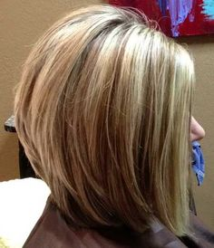 For getting a fresh new look, here are the hottest bob hair inspirations. Latest most popular bob hairstyles for you to try. Bob hairstyles really look amazing with especially ombre color effects, and the look below is no exception to that. Stacked Bob Hairstyles, Pretty Hairstyles, Hairstyles 2016, Medium Hairstyles, Wedding Hairstyles, Layered Haircuts, Braided Hairstyles, Style Hairstyle, Long Stacked Haircuts