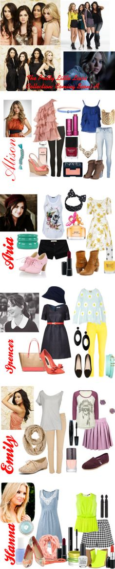 """Pretty Little Liars Collection"" by coco42399 ❤ liked on Polyvore"