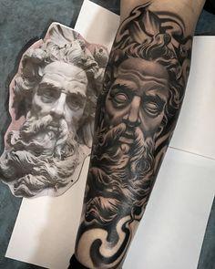 My new art work… Forearm Sleeve Tattoos, Best Sleeve Tattoos, Forearm Tattoo Men, Tattoo Sleeve Designs, Tattoo Designs Men, Tattoos 3d, Body Art Tattoos, Tattoos For Guys, Tattos