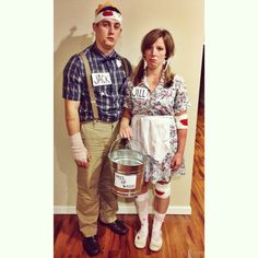 Jack and Jill costume!