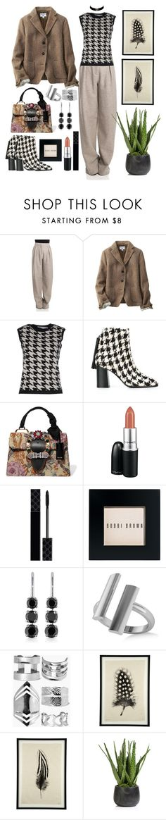 """Kinda Preppy Chic"" by loves-elephants ❤ liked on Polyvore featuring Alberta Ferretti, Uniqlo, Christian Dior, MSGM, Miu Miu, MAC Cosmetics, Gucci, Bobbi Brown Cosmetics, Belk & Co. and Allurez"