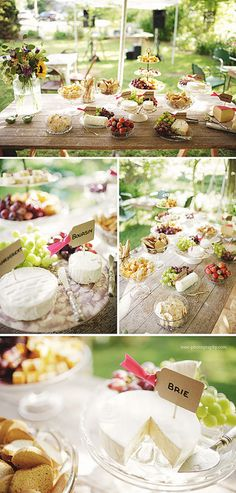 cheese at the reception