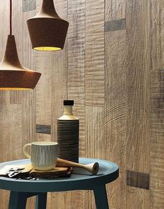 Full-body porcelain stoneware wall/floor #tiles with #wood effect SCRAPWOOD Sun by Italgraniti
