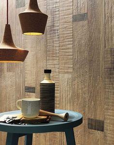 Full-body porcelain stoneware wall/floor #tiles with #wood effect SCRAPWOOD Sun by Italgraniti