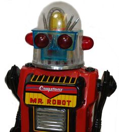 Cragstan MR Robot TIN TOY Japan Vintage 1950'S With Original BOX | eBay