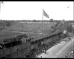 Navin Field World Series 1934