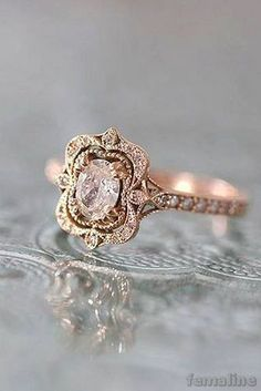 Vintage wedding jewelry 2017 trends and ideas (142) – FEMALINE