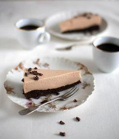Suklainen kahvijuustokakku
