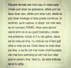 Fiecare femeie are rolul sau in viata asta. Daughter Quotes, Unconditional Love, True Words, Motto, Love Quotes, Poems, Relationship, Motivation, Feelings