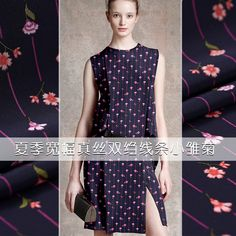 Stripe small chrysanthemum printing silk crepe de chine fabric summer clothing chinese silk fabric crepe silk fabric silk cloth. Yesterday's price: US $73.00 (60.41 EUR). Today's price: US $40.15 (33.22 EUR). Discount: 45%.