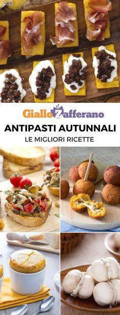 Kiss The Cook, Polenta, Antipasto, Culinary Arts, Street Food, Fall Recipes, Finger Foods, Food Art, Italian Recipes