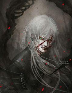 Undertaker by NanFe on DeviantArt Dream Fantasy, Sebaciel, Butler Anime, Undertaker, Werewolf Vs Vampire, Kuroshitsuji, Anime, Butler, Manga
