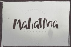 Nice Mahatma Typeface font CreativeWork247 - Fonts, Graphics, Themes, Templates...