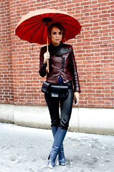 Fall 2013 Winter 2014 Boots - Best Street Style Tall, Capped, Lace-Up and Western Boots - Elle