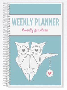 Origami Owl inspired Mini Planner  5.5 x 8.5 spiral by SassyHoots, $35.00