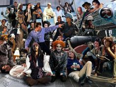 Every Johnny Depp character in one room!