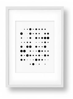 Fading Ink Blots 5/5, Black and White Print, Bold Minimalist Art for Home or Office Decor, Rorschach Test Inspired, Modern Art Print