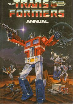 Transformers Annual 1987 - http://www.tutorfrog.com/transformers-annual-1987/  #Toys #cooltoys
