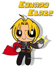 Crossover - Powerpuff Edward Elric by DaphInteresting on deviantART