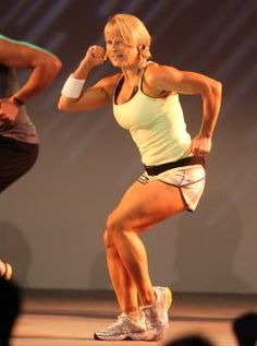Lisa Osborne, BodyAttack diva extraordinaire.