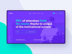 #1 - Codenga. E-learning platform. by Matt Wojtaś on Dribbble Homepage Design, Web Design, Coding Bootcamp, It Matters To Me, Computer Programming, Show And Tell, Design Reference, Case Study, Online Courses