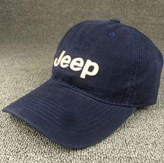 Vintage Navy Blue Embroidered Baseball Cap Hat 083dffb620