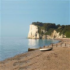 St Margarets Bay, Kent, UK, where half of my family are from, if I ever need to clear my head I sit on top of the cliffs and look out to Calais. Dover England, Kent England, Beautiful Places In England, Dover Kent, St Margaret, Seaside Towns, British Isles, Coastal Living, Places To See