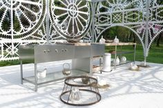 BOFFI open outdoor kitchen by Pierro Lissoni