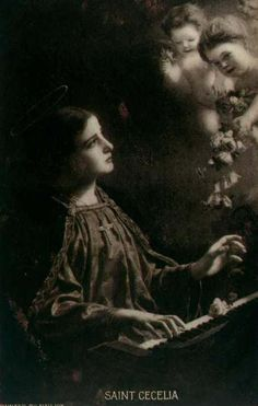 Saint Cecilia  (My confirmation patron saint)