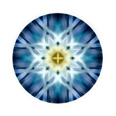 Extra large art   Mandala Art  Meditation by TheSkyeBlueGallery