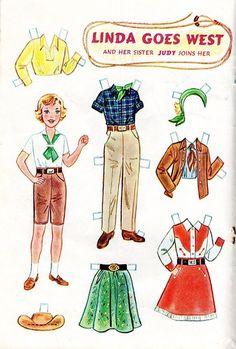 Jack And Jill Magazine September 1959 Children Dog Paper Doll 5 00 Picclick Dolls