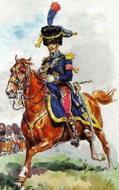 Aide de Camp de Général de Division par Lucien Rousselot.