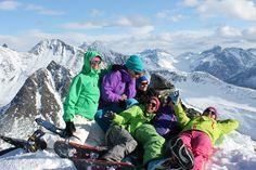 Top Tur -laskuvaelluksen perusteet naisille Norjassa 2014:  Romsdal, NORJA  13.-21.3.2015.      Haluatko oppia itsenäiseksi toptur-mimmiksi?  #Hiihtovaellus  #Laskuvaellus  #Ulkoilu  #Matkailu