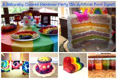 A (Naturally Colored) Rainbow Party