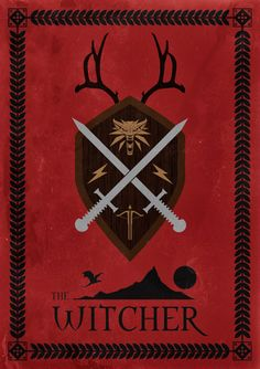 The Witcher Video Game Game Poster Video by ExtremepandaDesign