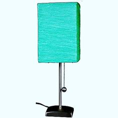 Table lamp is a small lamp designed to stand on a table. Adding elegance to your home decor could easily be achieved with the smallest thing such as adding a table lamp. Outdoor Table Lamps, Retro Table Lamps, Wooden Table Lamps, Table Lamp Sets, A Table, Purple Table Lamp, Blue Bedside Tables, Black Table Lamps, Cream Lamps