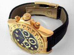 Rolex Chronograph Daytona. Another fine mechanical watch. Mre mechanical watches @ http://www.moderngentlemanmagazine.com/big-comeback-of-mechanical-wristwatch/