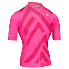 Sector Pink Women Jersey - Short Sleeve Pro Cut Cycling Jersey by Milltag