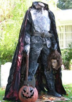 diy headless horseman - Google Search