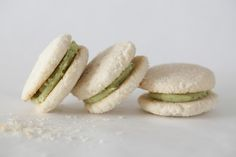 Sencha Coconut Cookies and Giveaway