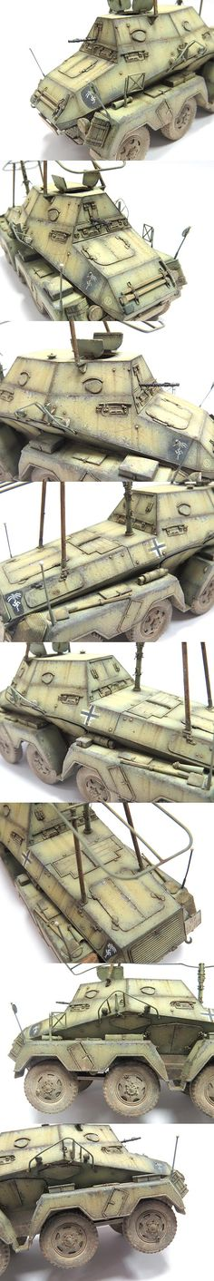 www.themworkshop.com MGALLERY2013 MGALLERY_cheflim2013_img_sdkfz263.htm Afrika Corps, Tony B, Ww2 Weapons, North African Campaign, Model Hobbies, Model Tanks, Panzer, Armored Vehicles, Dieselpunk