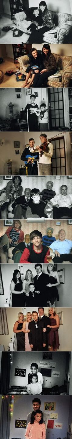 I can't help but notice that they had to leave Louis's great grandparents in with the rest of the original photo. It's so sad to think that they aren't here to see what he's achieved. They would be extremely proud.