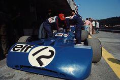 Francois Cevert (Austria 1971) by F1-François Cevert (FRA) (Elf Team Tyrrell), Tyrrell 002 - Ford V8 (DNF)