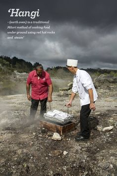 New Zealand Hangi - The traditional Maori food making method. A unique flavor with a real ceremony that goes along with this.very similar to Jamaica! New Zealand Food, New Zealand Travel, Long White Cloud, Living In New Zealand, Kiwiana, All Things New, Thinking Day, The Beautiful Country, South Island