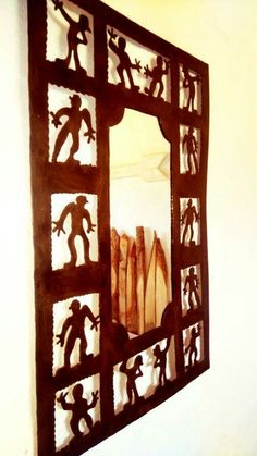 Wine Rack, Frame, House, Furniture, Home Decor, Rustic, Picture Frame, Decoration Home, Home