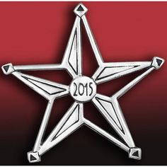 2015 Hand and Hammer Annual Star Sterling Silver Christmas Ornament Find at: http://www.silversuperstore.com/hand-hammer/annual-star-silver-ornament.html